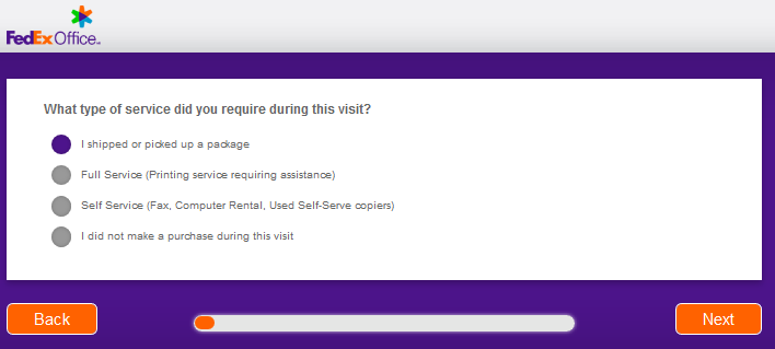 fedex office survey