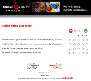 Bike Burn Survey