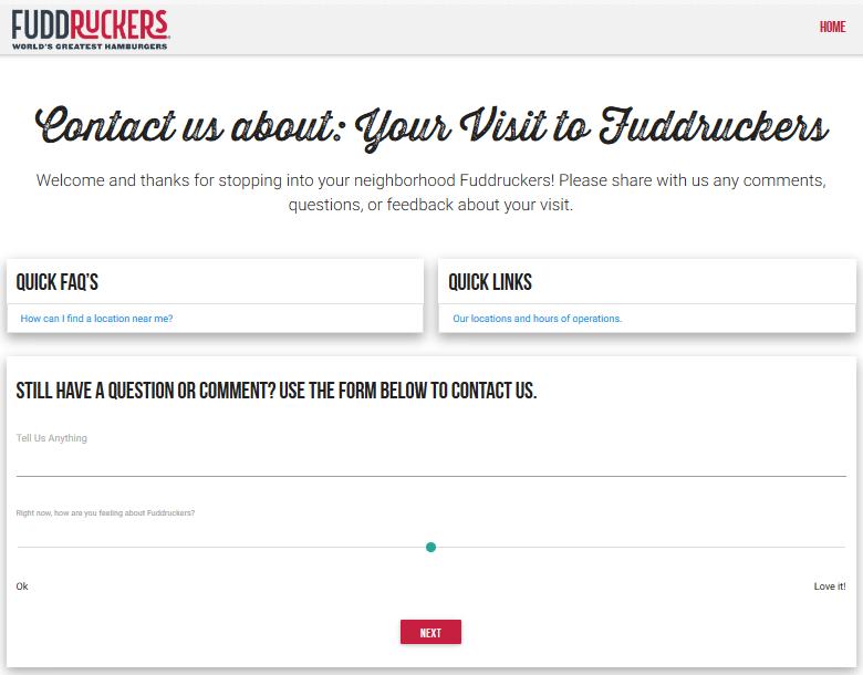 fuddruckers survey