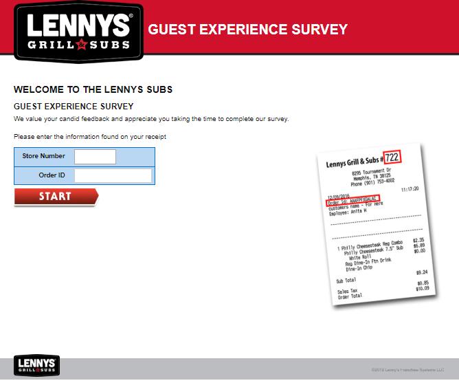 lennys survey
