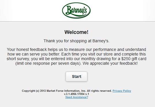 Barney Store