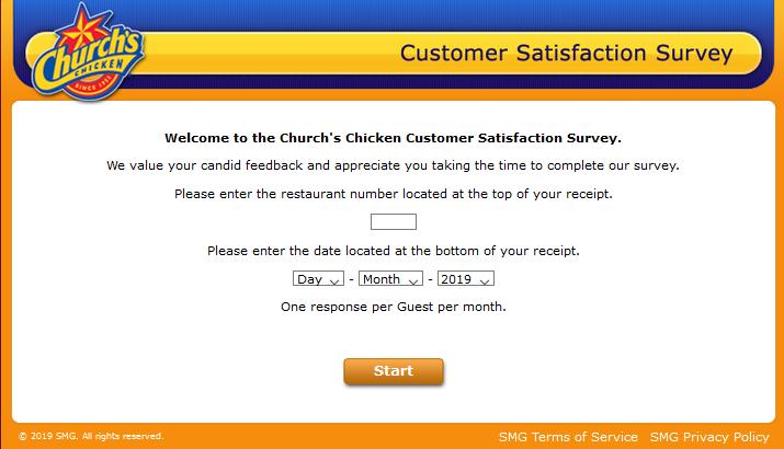 church chicken
